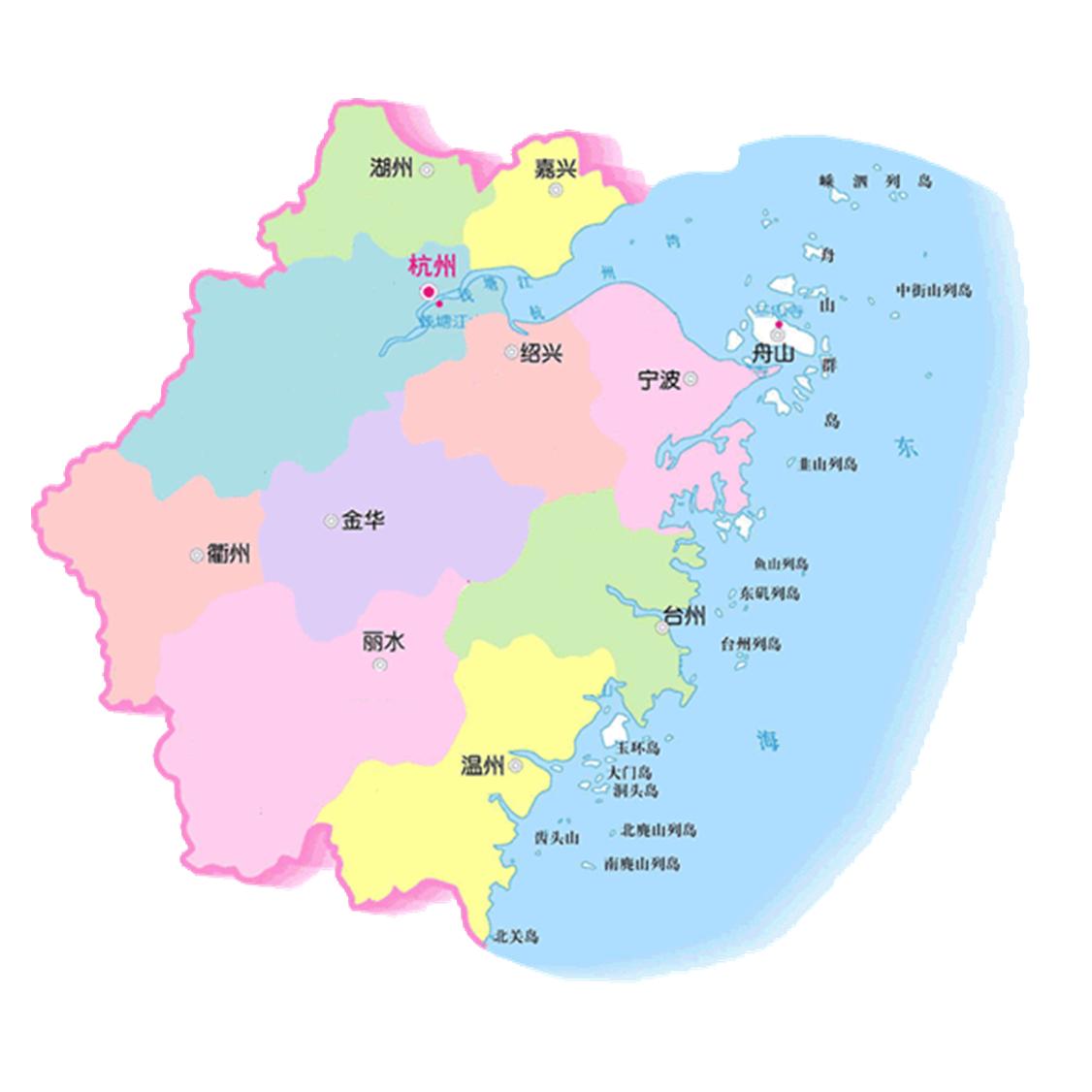 浙江风景区地图高清版