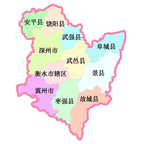 秦皇岛区域地图