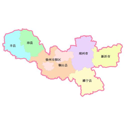 徐州汉王镇地图