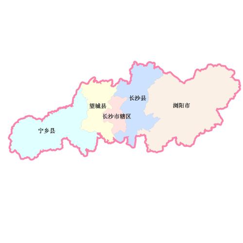 长沙市0地图